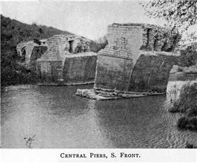 Aesepus Bridge around 1905/06