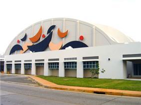 Façade of Rafael Hernández Airport