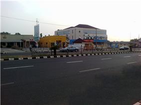 Ahmadu Bello Way in Ilorin