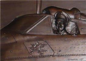 Air Commodore Leonard Birchall Leadership Award, at Royal Military College of Canada; bas-relief bronze by Colonel (ret'd) Andre Gauthier