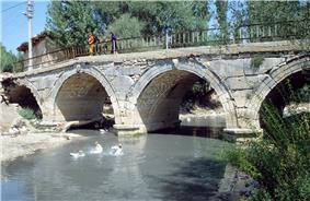 Penkalas Bridge in 1992