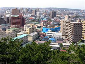 Downtown Akita