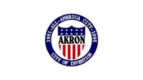 Flag of Akron, Ohio
