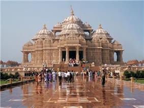 Swaminarayan Akshardham in New Delhi, India