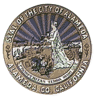 Official seal of City of Alameda