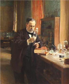 French chemist and microbiologist Louis Pasteur