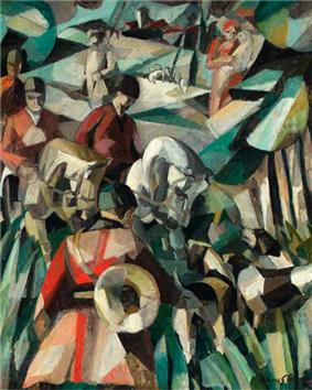 Albert Gleizes, La Chasse, 1911, oil on canvas, 123.2 x 99 cm.jpg