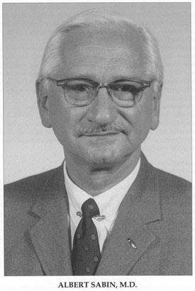 portrait of Albert Sabin