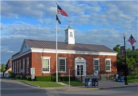 US Post Office-Albion