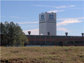 CCM tower at ALCOA's North Plant in Alcoa, Tennessee
