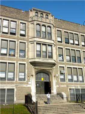 The James Alcorn School at 1500 South 32nd Street is on the National Register of Historic Places.