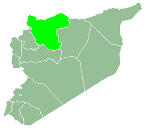 Aleppo Governorate within Syria