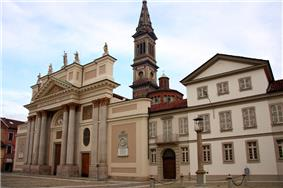 Alessandria Cathedral on the Piazza del Duomo