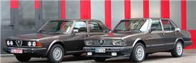 Alfa Romeo Alfa 6 first and second series
