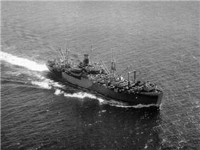 USS Algol (AKA-54) c. 1944