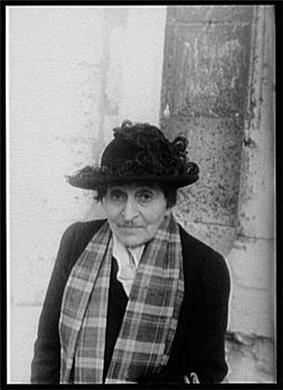 Alice B. Toklas, photographed by Carl Van Vechten, 1949