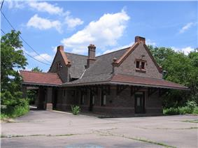 Pittsburgh and Lake Erie Passenger Station, Aliquippa