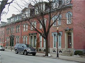 Victorian housing of Allegheny West