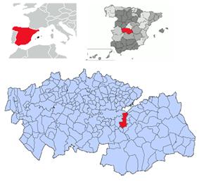 Location of Almonacid