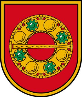 Coat of arms of Alsunga Municipality