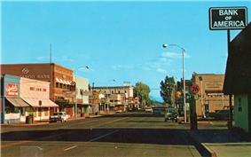 Main Street in 1975
