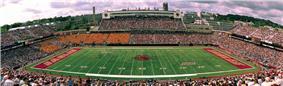 Alumni Stadium panorama