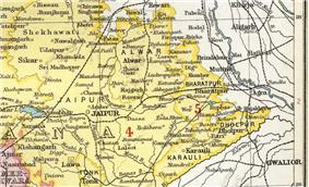 Location of Alwar