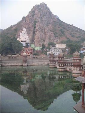 Alwar is famous for its scenic landscape