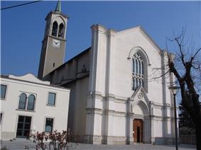 The church of St. Zeno in Ambivere