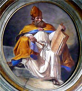 painting of St. Ambrose