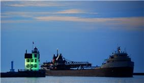 Lorain harbor