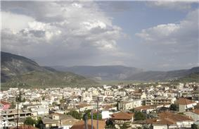 Southern part of Amfissa.