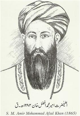 Mohammad Afzal Khan of Afghanistan