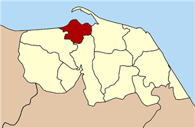 Location in Pattani Province