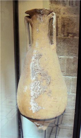 Amphora of the Beltran 2B type late 1st or 2nd century Betique Southern Spain found between Mogador and Pharaon islands.jpg