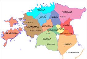 Location of Virumaa