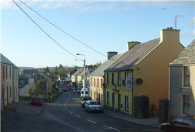 A view of Creeslough village, taken in 2008.