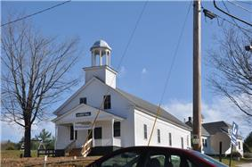 The Grange Hall in East Andover