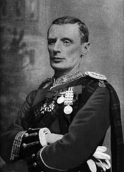 black and white portrait of General Andrew Gilbert Wauchope