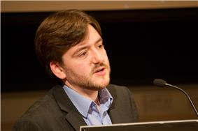 Andrew Copson introducing the BHA's 2012 Voltaire Lecture