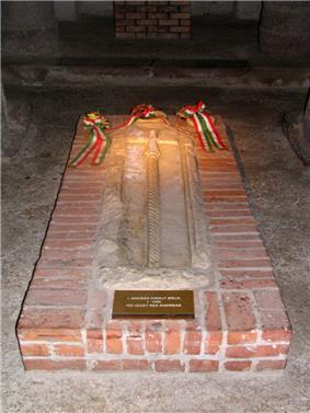 Andrew's tomb
