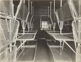 Dormitory at the United States Immigration Station