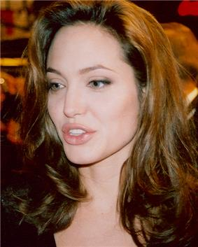 American actress Angelina Jolie
