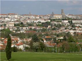 Angoulême, a view from Hirondelle golf course
