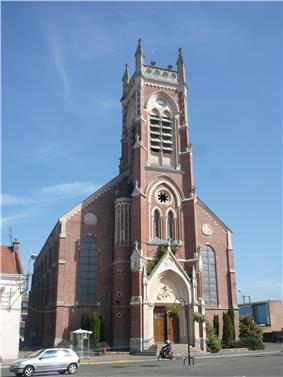 The Church of Saint-Martin