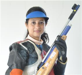 Anjali Bhagwat also referred as greatest Indian women athletes of all time.