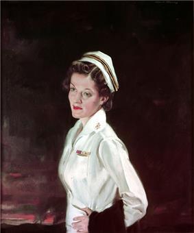 CDR Ann Agnes Bernatitus, Nurse Corps, USN