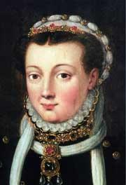 Close-up portrait of Anna of Egmond