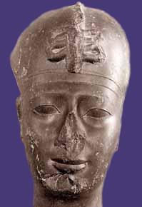 head of Apries, Louvre