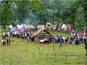 Medieval festival in Apuolė